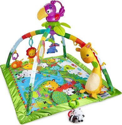 Fisher-Price Rainforest Music and Lights Deluxe Infant Gym: