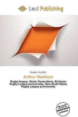 Arthur Beetson (Paperback): Nuadha Trev