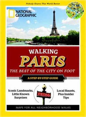 Walking Paris (Paperback): National Geographic