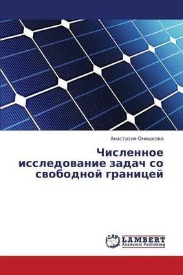 Chislennoe Issledovanie Zadach So Svobodnoy Granitsey (Russian, Paperback): Onishkova Anastasiya