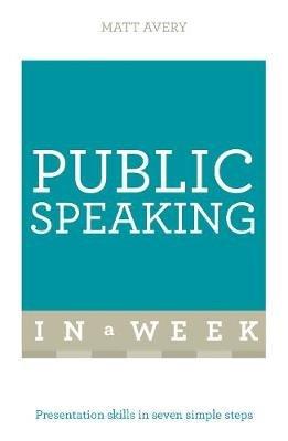 simple public speaking text
