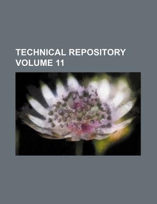Technical Repository Volume 11 (Paperback): Books Group