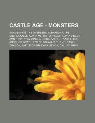 Castle Age - Monsters - Agamemnon, the Overseer, Alexandra