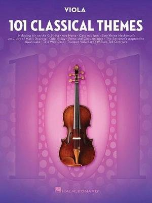 101 Classical Themes For Viola (Paperback): Hal Leonard Publishing Corporation