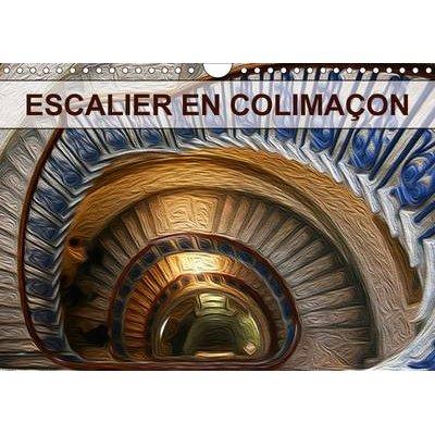 Escalier En Colimacon 2017 - Creation Graphique De Tableaux De Peinture a L'huile (French, Calendar, 2nd edition): Nadia...