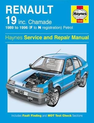Renault 19 Petrol (89 - 96) F To N (Paperback, 3rd Revised edition): Haynes Publishing
