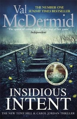 Insidious Intent - (Tony Hill and Carol Jordan, Book 10) (Hardcover): Val McDermid