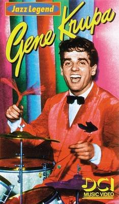 Gene Krupa -- Jazz Legend - Video (VHS video casette): Gene Krupa