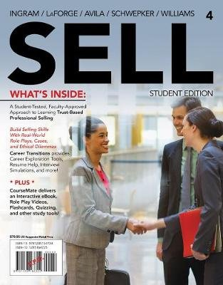 SELL4 (with CourseMate Printed Access Card) (Paperback, 4th edition): Ramon Avila, Michael Williams, Thomas Ingram, Charles...