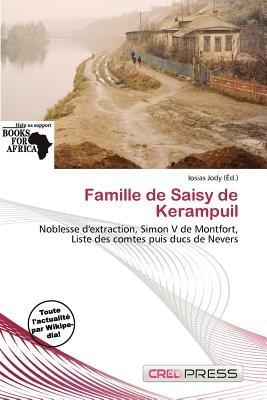 Famille de Saisy de Kerampuil (French, Paperback): Iosias Jody