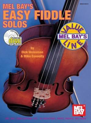 Easy Fiddle Solos (Paperback): Dick Weissman