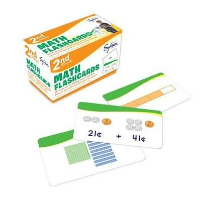 Second Grade Math Flashcards (Paperback):