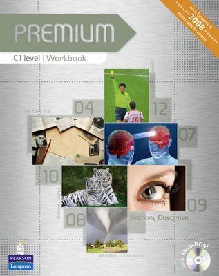 Premium C1 Level Workbook without Key/Multi-Rom Pack (Paperback): Anthony Cosgrove