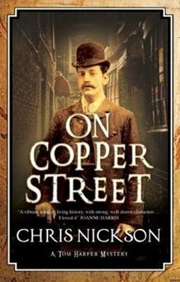 On Copper Street (Large print, Hardcover, Large type / large print edition): Chris Nickson