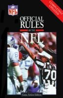 Official Rules of the NFL (Paperback): USA National Football League
