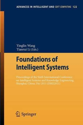 Foundations of Intelligent Systems - Proceedings of the Sixth International Conference on Intelligent Systems and Knowledge...