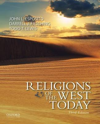 Religions of the West Today (Paperback, 3rd): John L. Esposito
