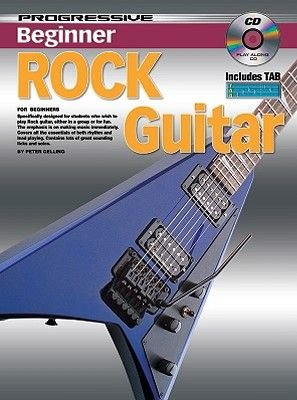 Progressive Beginner Rock Guitar (Mixed media product): Peter Gelling