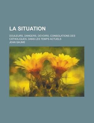 La Situation; Douleurs, Dangers, Devoirs, Consolations Des Catholiques, Dans Les Temps Actuels (English, French, Paperback):...