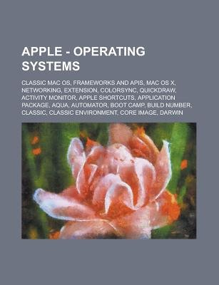 Apple - Operating Systems - Classic Mac OS, Frameworks and