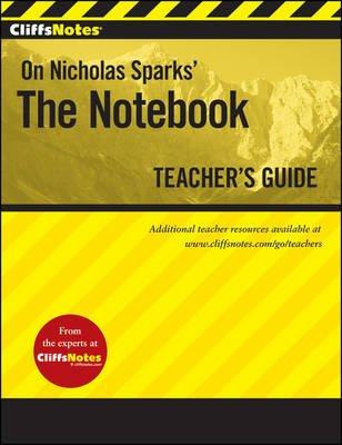 Cliffsnotes on Nicholas Sparks' the Notebook (Paperback, Teacher's Guide): Richard P. Wasowski