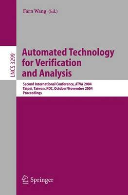 Automated Technology for Verification and Analysis (Paperback): Farn Wang