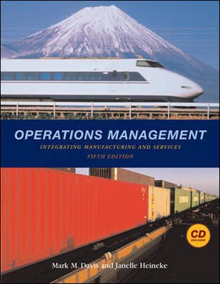 Operations Management: WITH Student CD and PowerWeb (Audio cassette, 5th Revised edition): Mark Davis, Janelle Heineke