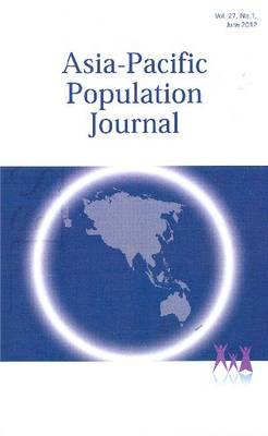 Asia-Pacific Population Journal 2012 (Paperback):