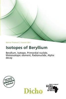 Beryllium isotope dating