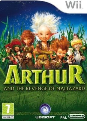Arthur and the Revenge of Maltazard (Nintendo Wii, Game):
