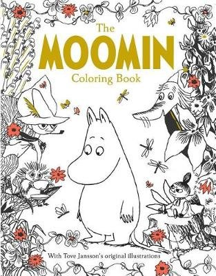 The Moomin Coloring Book (Paperback): Tove Jansson