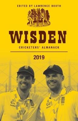 Wisden Cricketers' Almanack 2019 (Hardcover): Lawrence Booth
