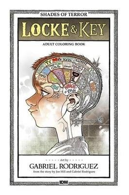 Locke & Key Shades Of Terror Coloring Book (Paperback): Gabriel Rodriguez