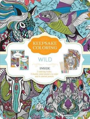 Wild Keepsake Coloring Tin (Paperback): Parragon Books Ltd