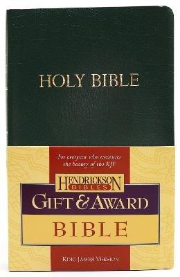 KJV Gift and Award Bible (Paperback): Hendrickson Publishers