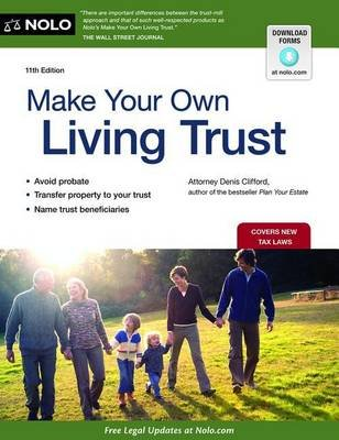 Make Your Own Living Trust (Paperback, 11th ed.): Denis Clifford