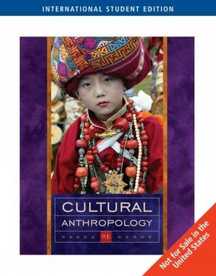 Cultural Anthropology Paperback 9th International Ed