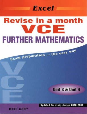 VCE Further Mathematics (Paperback): Mike Cody
