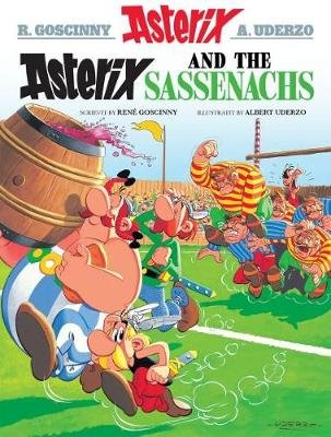 Asterix and the Sassenachs (Scots) (Paperback): Rene Goscinny