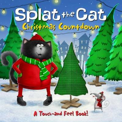 Splat the Cat: Christmas Countdown (Board book): Rob Scotton