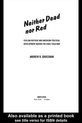 Neither Dead Nor Red (Electronic book text): Andrew Grossman