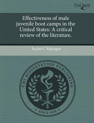 Effectiveness of Male Juvenile Boot Camps in the United States: A Critical Review of the Literature (Paperback): Rachel C...