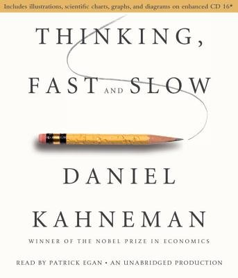 Thinking, Fast and Slow (Standard format, CD, abridged edition): Daniel Kahneman