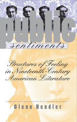 Public Sentiments - Structures of Feeling in Nineteenth-Century American Literature (Hardcover): Glenn Hendler