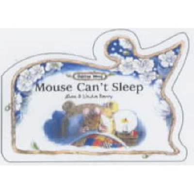 Mouse Can't Sleep (Board book): Linda Parry