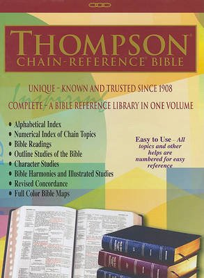 Thompson Chain Reference Bible-NIV (Leather / fine binding): Kirkbride Bible Company
