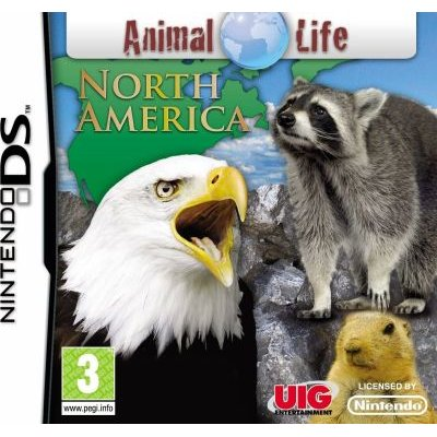 Animal Life - North America (Nintendo DS, Game cartridge):