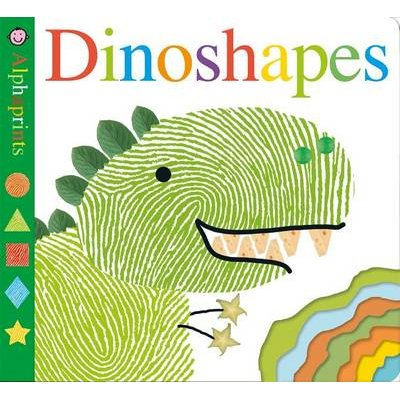Alphaprints: Dinoshapes (Board book): Roger Priddy
