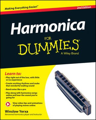 Harmonica For Dummies (Paperback, 2nd Edition): Winslow Yerxa