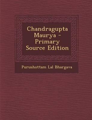 Chandragupta Maurya Book